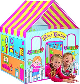 Kids doll house play tent hut children pretend play house dollhouse portable indoor outdoor boy girl Holiday Gift