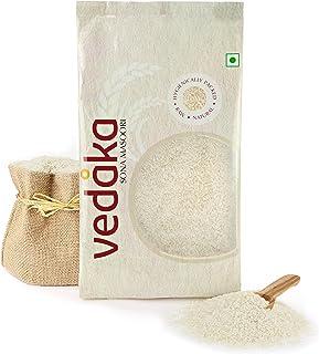 Amazon Brand - Vedaka Sona Masoori Raw Rice, 5Kg, White