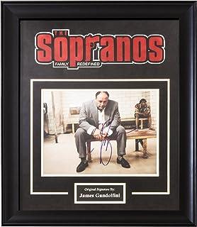 23746ebf266a The Sopranos Signed by James Gandolfini - Framed Artist Series