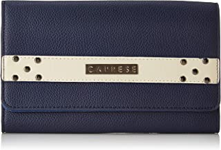 Caprese Kia Women's Wallet (White-Navy)