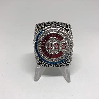 2016 Ben Zobrist Chicago Cubs High Quality Replica 2016 World Series Ring Size 12-Silver US SHIPPING
