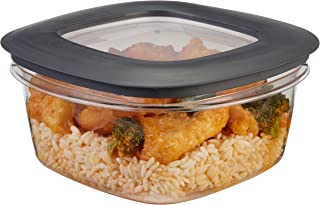 Rubbermaid Premier Easy Find Lids 5-Cup Meal Prep and Food Storage Container, Grey |BPA-Free & Stain Resistant