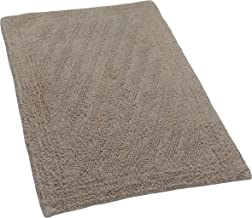 Castle Hill Shooting Star Reversible Bath Rug, 17 by 24-Inch, Natural