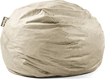Big Joe Lenox Fuf Foam Filled Bean Bag, King, Oat