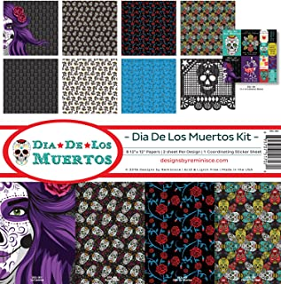 day of the dead paper crafts
