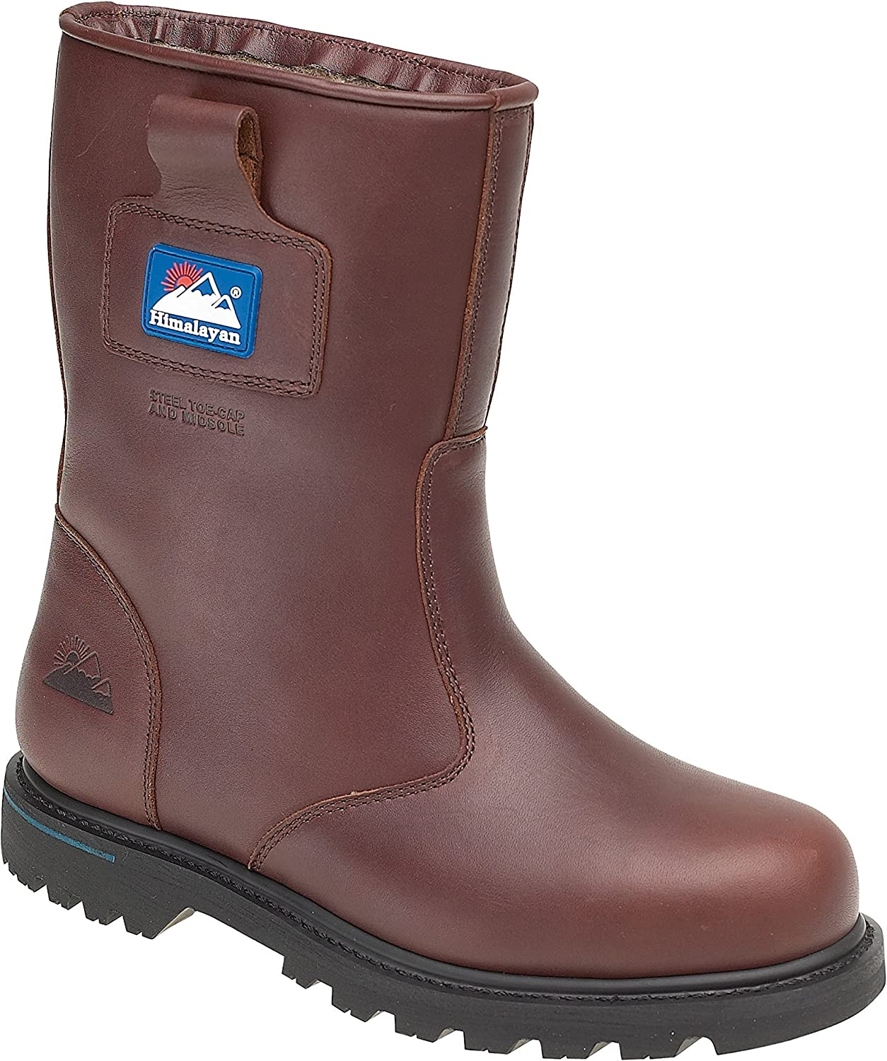 Himalayan Full Grain Leather Goodyear Welted Rigger Boots