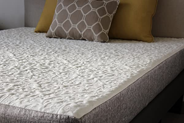 Handcrafted In USA 8 Inch Full XL Cool Sleep Gel Memory Foam Mattress With Premium Textured 8 Way Stretch Cover Full XL