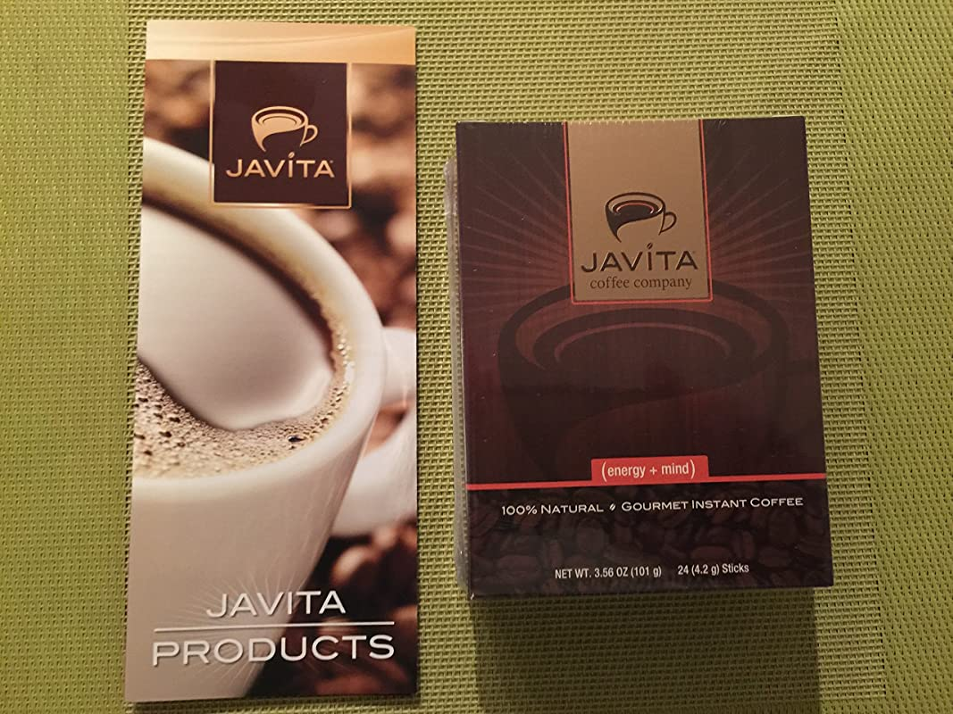 Javita Energy Mind Gourmet Instant Coffee For Mental Clarity 24 Servings