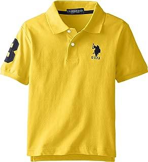 U.S. Polo Assn. Boys' Solid Short Sleeve Polo Shirt
