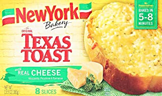 New York Texas Toast, Garlic Toast with Cheese, 13.5 oz (Frozen)