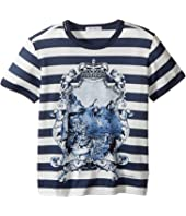 Dolce & Gabbana Kids - Capri Bold Stripe Maiolica T-Shirt (Toddler/Little Kids)