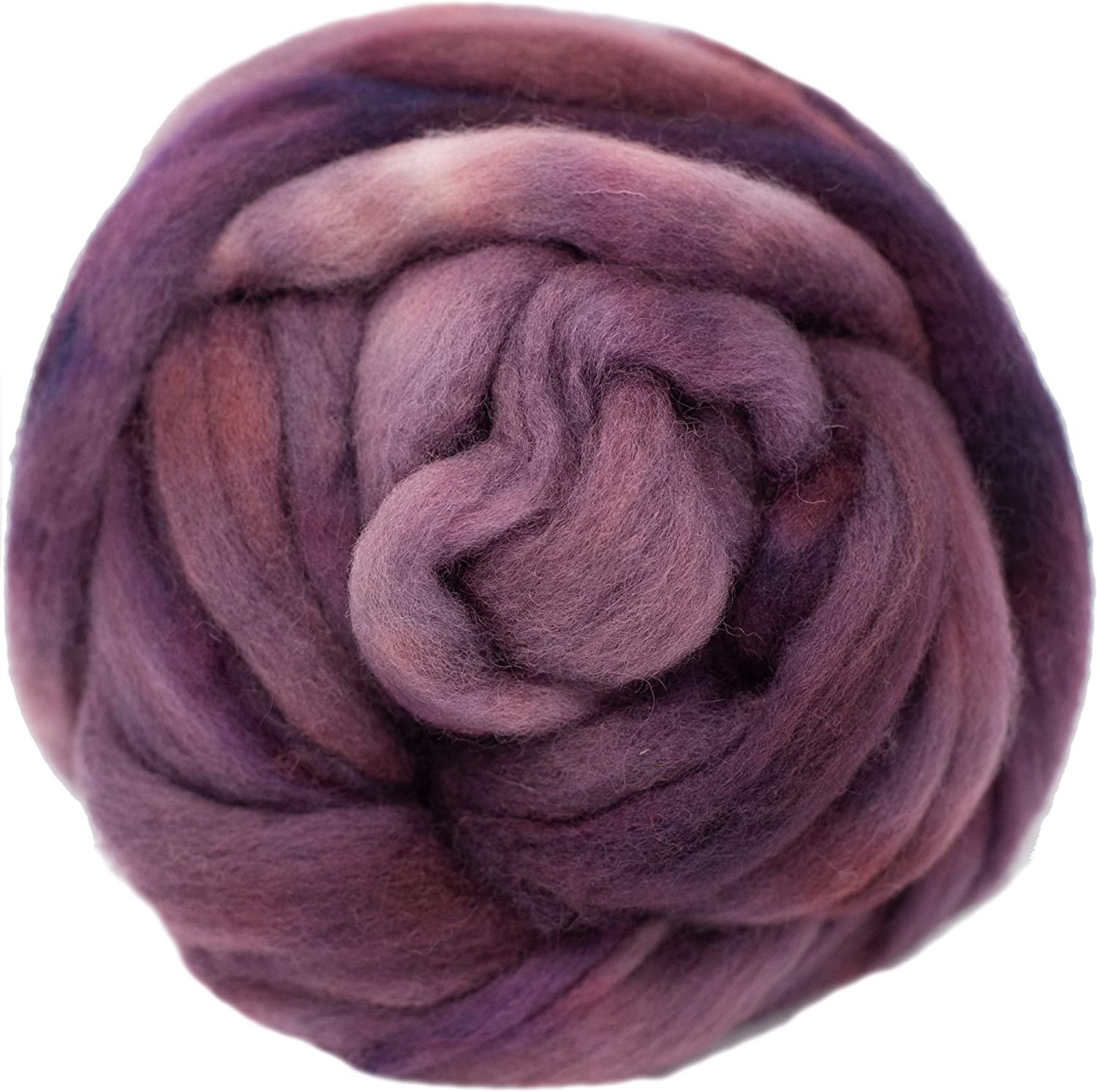 Wool Roving Max 69% OFF Hand Dyed. Super Superior Soft BFL Pre-Drafted Top Combed for