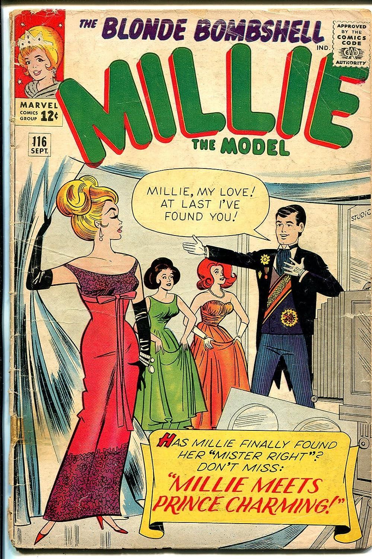 Millie The Model #116 1963-Atlas-Chili-Toni-paper doll-fashion-G