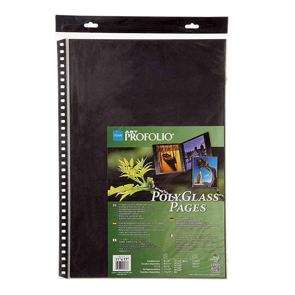 Darice ITY90137 Itoya Polyglass Pages
