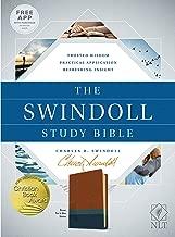 The Swindoll Study Bible NLT, TuTone (LeatherLike, Brown/Teal/Blue)