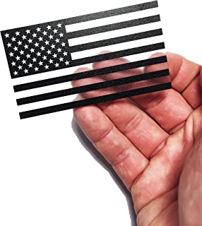 Thick Transparent Forward American Flag Durable USA Polycarbonate Decal 2