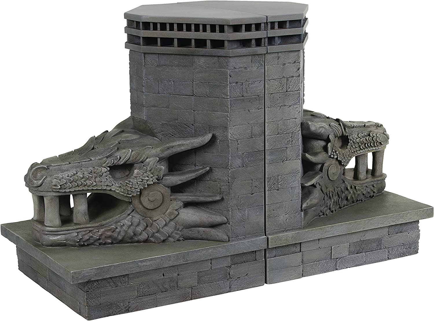 Dark Horse Deluxe Game of Thrones  Dragonstone Gate Dragon Bookends Set, Assorted
