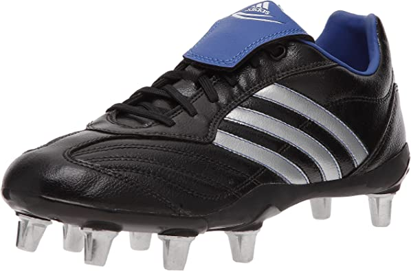 adidas Regulate IV SG - Chaussures Rugby Homme - Noir/Argent