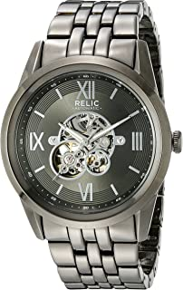Men's Blaine Automatic Metal Skeleton Dial Watch