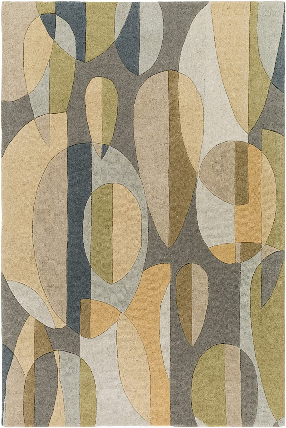 Limited price sale Surya Forum Area Rug 9' 12' x Green Blue Miami Mall