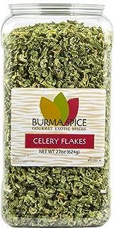 Celery Flakes Dried Seasoning Herb : Kosher (22oz.)