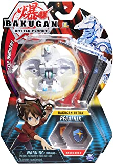 Bakugan Ultra, Pegatrix, 3-inch Tall Collectible Transforming Creature, for Ages 6 and Up