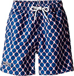 Navy and Red Swim Shorts (Infant/Toddler/Little Kids/Big Kids)