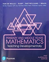 Primary and Middle Years Mathematics: Teaching Developmentally