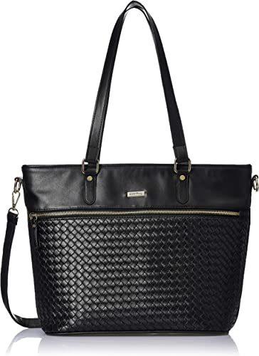 Women s Black Zipper Handbag Size Height 25cm x width 42cm x Depth 16cm
