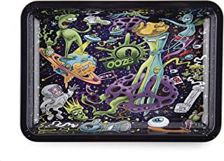 Ooze - Metal Rolling Tray - Universe - (Small)