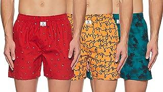 Longies Men's Regular Printed Boxer Shorts