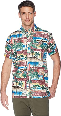 Hawaiian Christmas Classic Fit Shirt