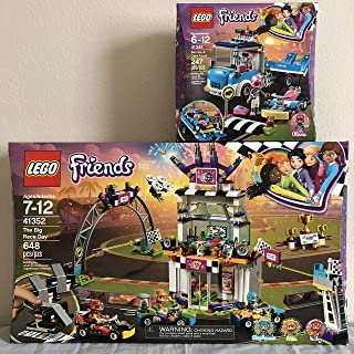 Lego Friends The Big Race Day & Lego Friends Service and Care Truck
