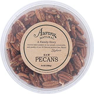 Aurora Natural Products Raw Pecans, 14 Ounce