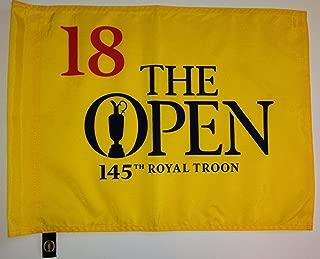 2016 British Open flag Royal Troon golf tournament pin flag