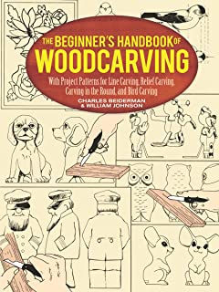 The Beginner's Handbook of Woodcarvings (Dover Woodworking)