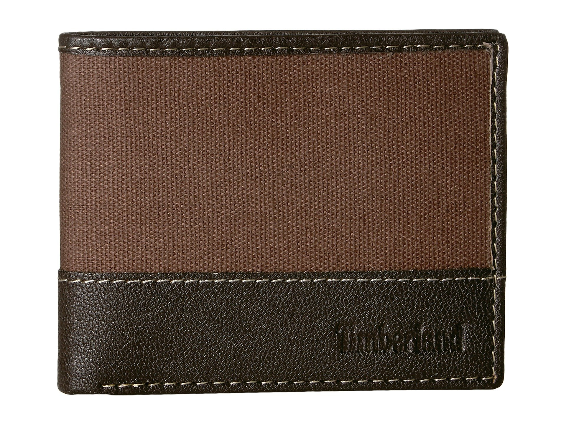 Billetera para Hombre Timberland Canvas andamp; Leather Billfold Set  + Timberland en VeoyCompro.net