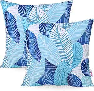 Christopher Knight Home 311752 Letitia Outdoor Throw Pillow (Set of 2), Blue