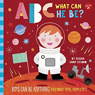 ABC for Me: ABC What Can He Be?: Boys can be anything they want to be, from A to Z (Volume 6)