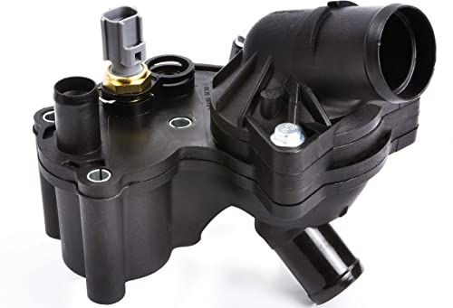 BOXI Thermostat Housing Kit Assembly With Sensor Fits V6 4.0L Engine ONLY 2002-2010 Ford Explorer & Mercury Mountaineer 2L2Z8592AA,2L2Z8592BA product image