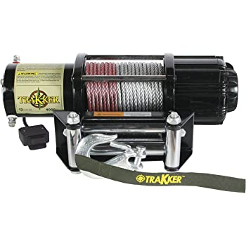 Amazon.com: KEEPER Corporation KT4000 Trakker 1.6 Horsepower 12V DC  Electric Winch - 4,000-Pound Capacity (Black): AutomotiveAmazon.com