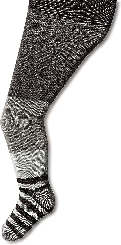 Jefferies Socks Little Girls' Wide Stripe Tights