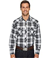 Roper - 1209 Black, Grey and White Plaid