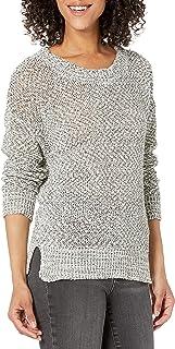 Women's Long Sleeve Crew Neck Organic Pullover Sweater