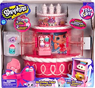 Shopkins Series 7 Birthday Cake Surprise Party Playset - 5 Years & Above (Multi Color 56458)