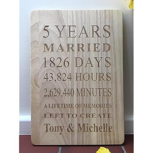 5 Year Anniversary Traditional Gift: 5 Year Anniversary Gifts: Amazon.co.uk