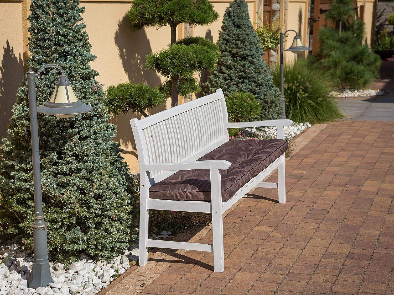 120 x 40 cm Coussin de banc Beige Coussin pour ext/érieur Coussin de banc Pour bancs dans la maison et le jardin