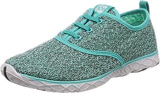 Aleader 4562320452601 Leader Men's Marine Sports Sandals Jogging Shoes Amphibious Ventilation, GREEN