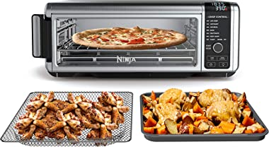 Ninja Foodi 8-in-1 Digital, Toaster, Air Fryer, with Flip-Away for Storage Multi-Purpose Counter-top Convection Oven (SP101),