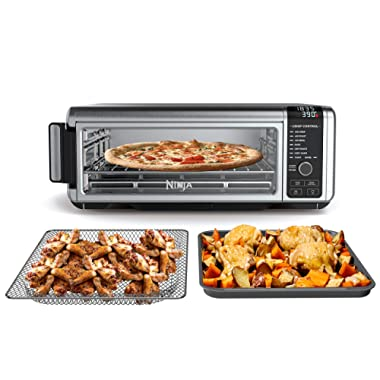 Ninja SP101 Foodi Digital Fry, Convection Oven, Toaster, Air Fryer, Flip-Away for Storage, with XL Capacity, and a Stainless Steel Finish